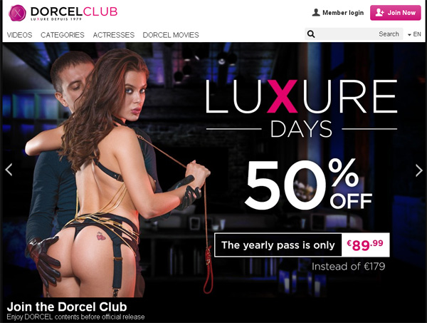 Free Dorcelclub Pass