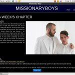 Missionary Boys Access