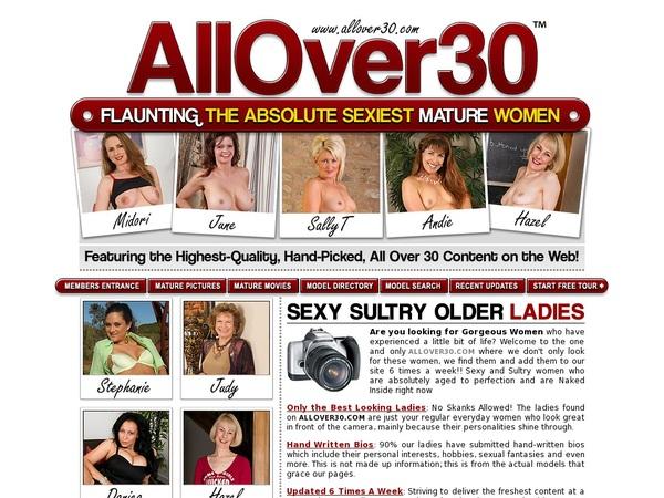 All Over 30 Original Gallery