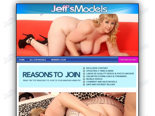 Jeff's Models Discounts