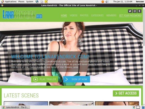 Lana Kendrick Review Site