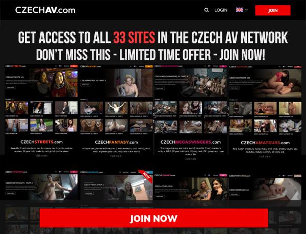 Czech AV Password Site