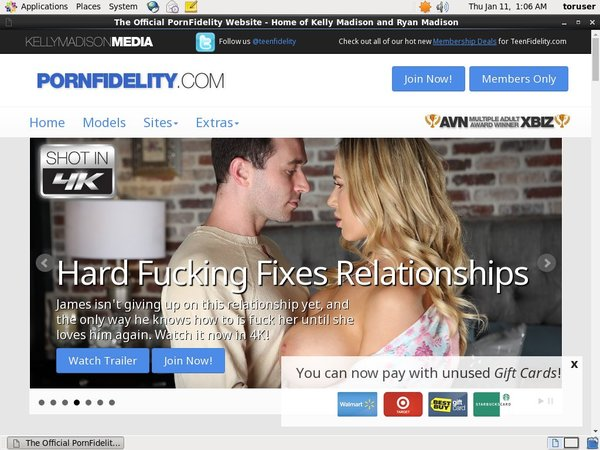 Pornfidelity Renew Subscription