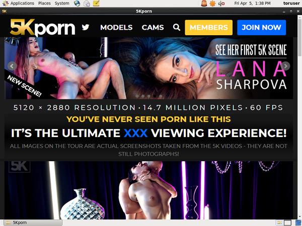 Special 5K Porn Free Trial