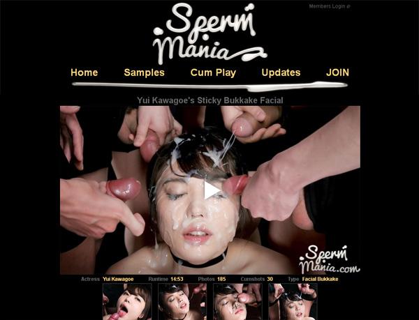 Sperm Mania Vendo