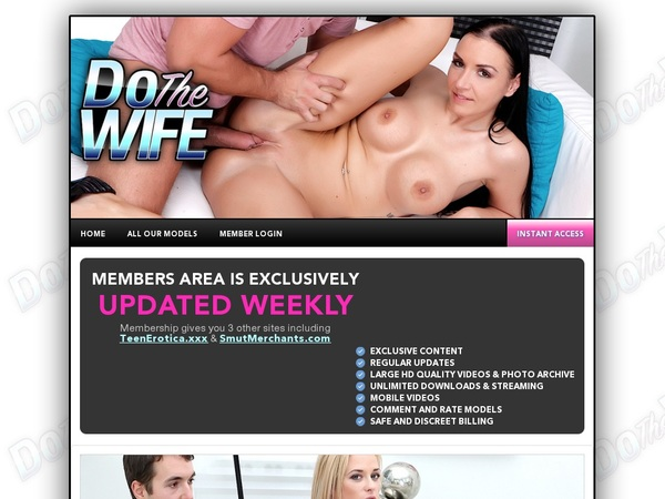 Free Dothewife.com Accounts Premium