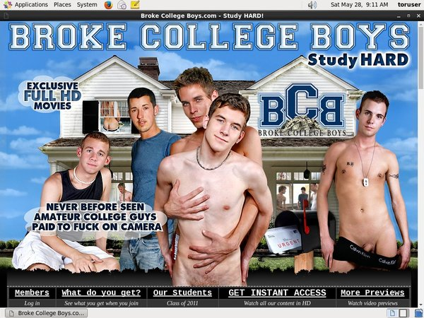 Brokecollegeboys.com Premium Accounts