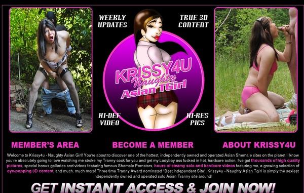 Krissy4u Mobile Accounts