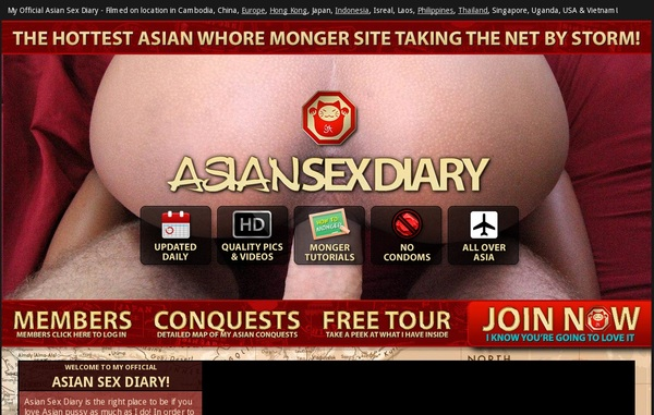 Asiansexdiary.com Without CC