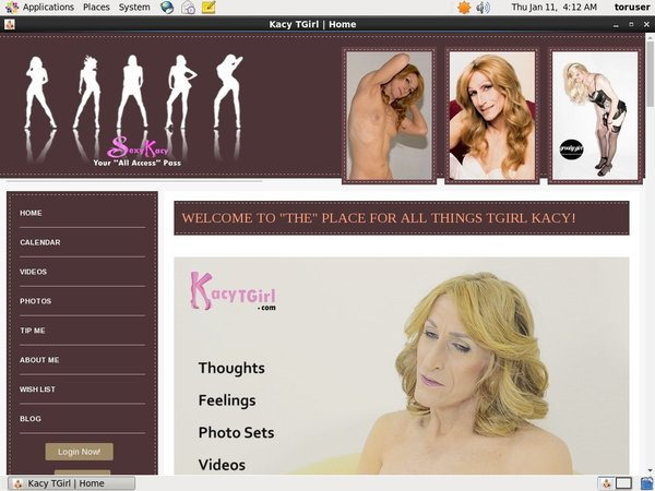 Free Account To Kacytgirl.com