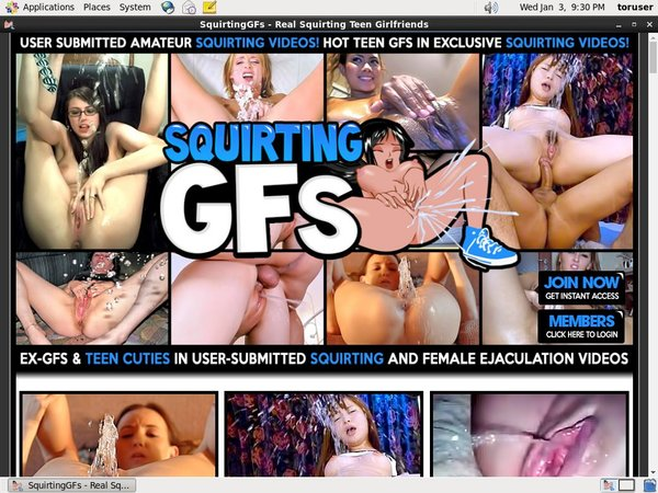 Squirting GFs Free Logins 2018