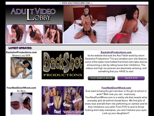 Adult Video Lobby Site