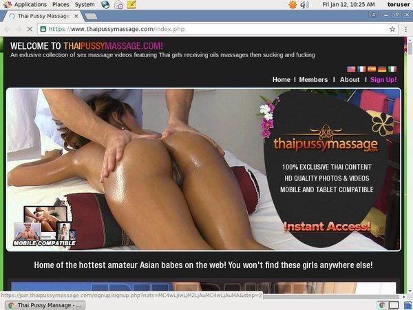 Thai Pussy Massage Episodes