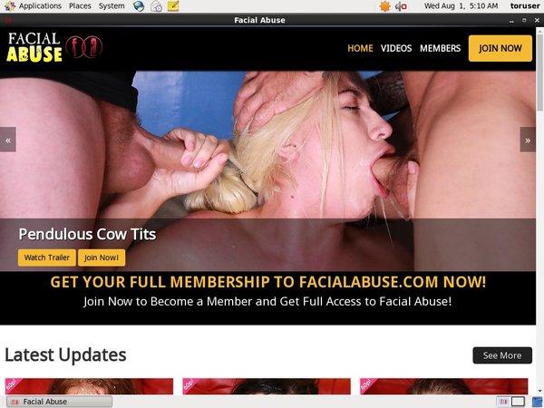 Password To Facialabuse.com